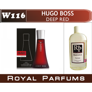 «Deep Red» от Hugo Boss. Духи на разлив Royal Parfums 200 мл