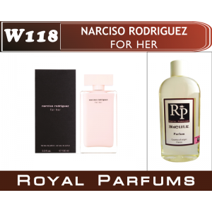 «Narciso Rodriguez for her» от Narciso Rodriguez. Духи на разлив Royal Parfums 200 мл