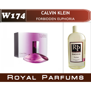 «Forbidden Euphoria» от Calvin Klein. Духи на разлив Royal Parfums 200 мл