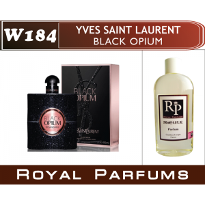 «Black Opium» от Yves Saint Laurent. Духи на разлив Royal Parfums 200 мл