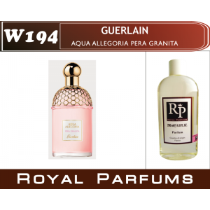 «Aqua Allegoria Pera Granita» от Guerlain. Духи на разлив Royal Parfums 200 мл