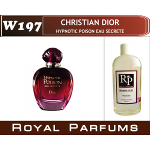 «Hypnotic Poison Eau Secrete» от Christian Dior. Духи на разлив Royal Parfums 200 мл