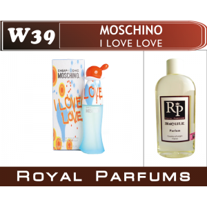 «I Love Love» от Moschino. Духи на разлив Royal Parfums 200 мл