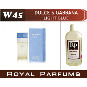 «Light Blue» от Dolce&Gabbana. Духи на разлив Royal Parfums 200 мл