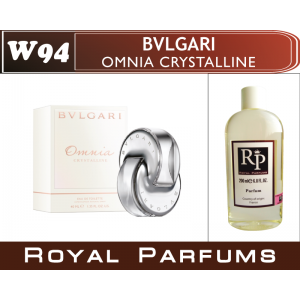 «Omnia Crystalline» от Bvlgari. Духи на разлив Royal Parfums 200 мл