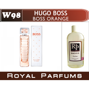 «Boss Orange women» от Hugo Boss. Духи на разлив Royal Parfums 200 мл
