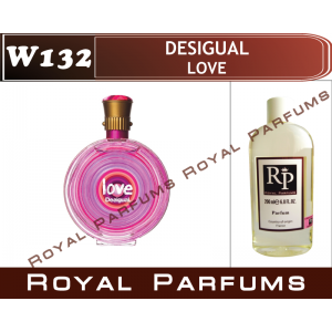 «Love» от Desigual. Духи на разлив Royal Parfums 200 мл