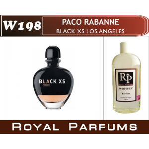 «Black XS Los Angeles for Her» от Paco Rabanne. Духи на разлив Royal Parfums 200 мл