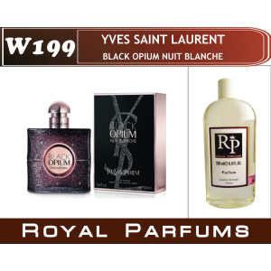 «Black Opium Nuit Blanche» от Yves Saint Laurent. Духи на разлив Royal Parfums 200 мл