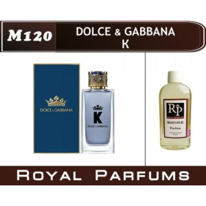 «K» от Dolce & Gabbana. Духи на разлив Royal Parfums 100 мл