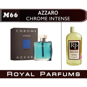 «Chrome Intense» от Azzaro. Духи на разлив Royal Parfums 100 мл