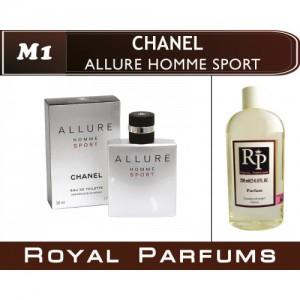 «Allure Homme Sport» от Chanel. Духи на разлив Royal Parfums 200 мл