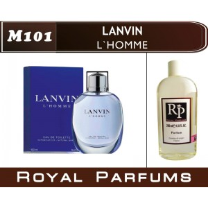 «L`Homme» от Lanvin. Духи на разлив Royal Parfums 200 мл