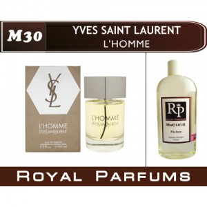 «L'Homme» от Yves Saint Laurent. Духи на разлив Royal Parfums 200 мл