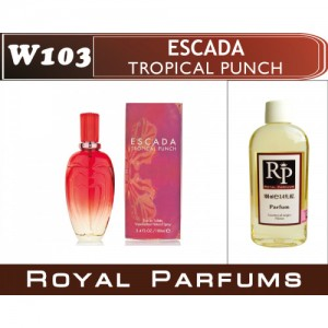 «Tropical punche» от Escada. Духи на разлив Royal Parfums 100 мл