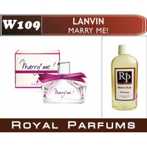 «Marry me» от Lanvin. Духи на разлив Royal Parfums 100 мл