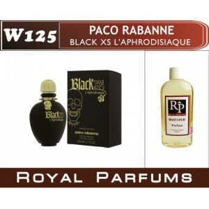 «Black XS L'Aphrodisiaque» от Paco Rabanne. Духи на разлив Royal Parfums 100 мл