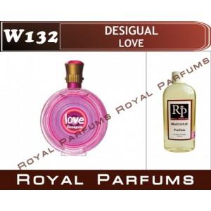 «Love» от Desigual. Духи на разлив Royal Parfums 100 мл