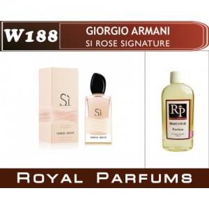 «Si Rose Signature» от Giorgio Armani. Духи на разлив Royal Parfums 100 мл