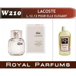 «L.12.12 Pour Elle Elegant» от Lacoste. Духи на разлив Royal Parfums 100 мл
