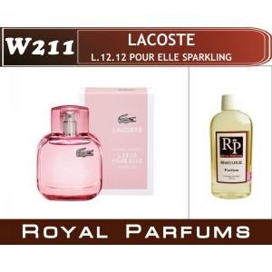 «L.12.12 Pour Elle Sparkling» от Lacoste. Духи на разлив Royal Parfums 100 мл