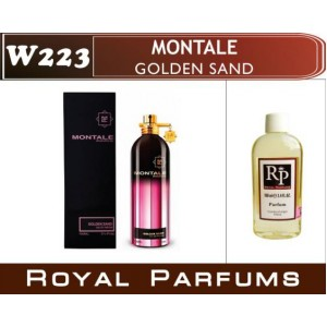 «Golden Sand» от Montale. Духи на разлив Royal Parfums 100 мл