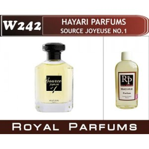 «Source Joyeuse no1» от Hayari Parfums. Духи на разлив Royal Parfums 100 мл