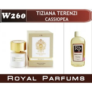 «Cassiopea» от Tiziana Terenzi. Духи на разлив Royal Parfums 100 мл