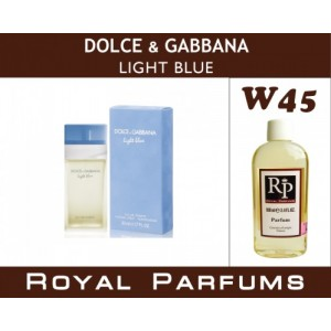 «Light Blue» от Dolce&Gabbana. Духи на разлив Royal Parfums 100 мл