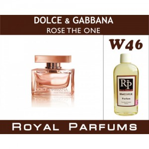«Rose the One» от Dolce&Gabbana. Духи на разлив Royal Parfums 100 мл