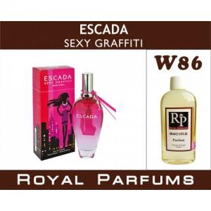 «Sexy Graffiti» от Escada. Духи на разлив Royal Parfums 100 мл