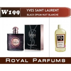 «Black Opium Nuit Blanche» от Yves Saint Laurent. Духи на разлив Royal Parfums 100 мл
