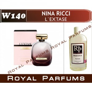 «L'Extase» от Nina Ricci. Духи на разлив Royal Parfums 200 мл