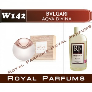 «Aqva Divina» от Bvlgari. Духи на разлив Royal Parfums 200 мл