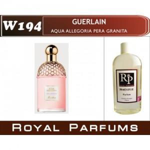 «Aqua Allegoria Pera Granita» от Guerlain. Духи на разлив Royal Parfums 200 мл