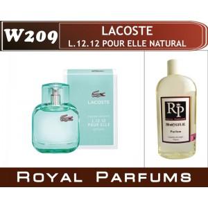 «L.12.12 Pour Elle Natural» от Lacoste. Духи на разлив Royal Parfums 200 мл