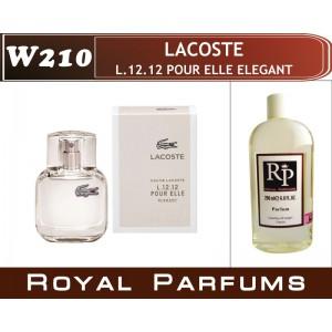 «L.12.12 Pour Elle Elegant» от Lacoste. Духи на разлив Royal Parfums 200 мл