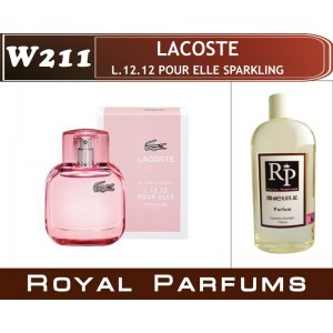 «L.12.12 Pour Elle Sparkling» от Lacoste. Духи на разлив Royal Parfums 200 мл