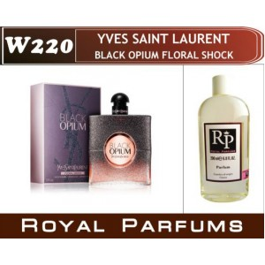 «Black Opium Floral Shock» от YSL. Духи на разлив Royal Parfums 200 мл