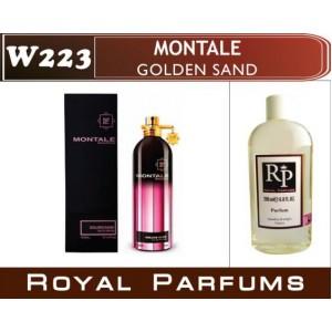 «Golden Sand» от Montale. Духи на разлив Royal Parfums 200 мл