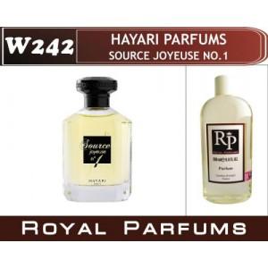 «Source Joyeuse no1» от Hayari Parfums. Духи на разлив Royal Parfums 200 мл