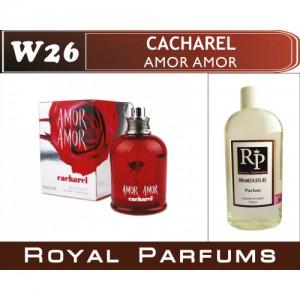 «Amor Amor» от Cacharel. Духи на разлив Royal Parfums 200 мл