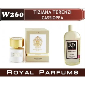 «Cassiopea» от Tiziana Terenzi. Духи на разлив Royal Parfums 200 мл