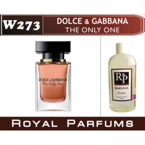«The Only One» от Dolce & Gabbanа. Духи на разлив Royal Parfums 200 мл