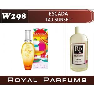 «Taj Sunset» от Escada. Духи на разлив Royal Parfums 200 мл