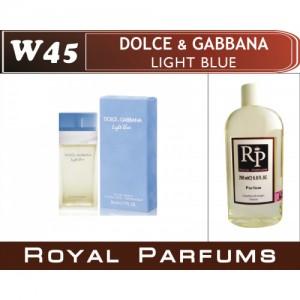 «Light Blue» от Dolce&Gabbana. Духи на разлив Royal Parfums 200 мл