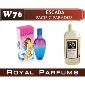 «Pacific Paradise» от Escada. Духи на разлив Royal Parfums 200 мл