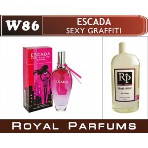 «Sexy Graffiti» от Escada. Духи на разлив Royal Parfums 200 мл
