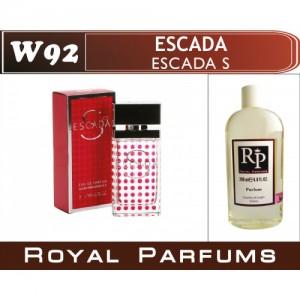 «Escada S» от Escada. Духи на разлив Royal Parfums 200 мл