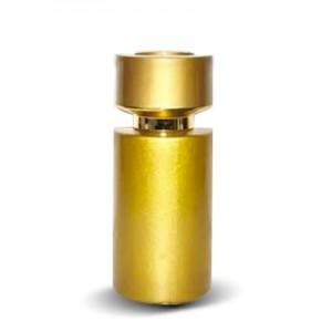 Стеклянный золотой флакон «Донна» 50 мл